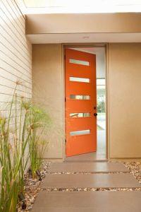 Orange Front Door | Tangerine ORANGE | Pinterest