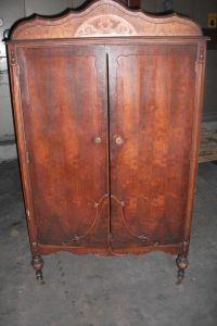 Antique Wardrobe Armoire Chifferobe Dresser Closet Original
