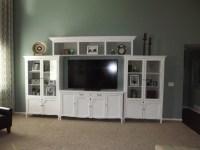 White Entertainment Center | Living Room | Pinterest