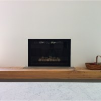 Flush fireplace and wood hearth | Fireplaces | Pinterest