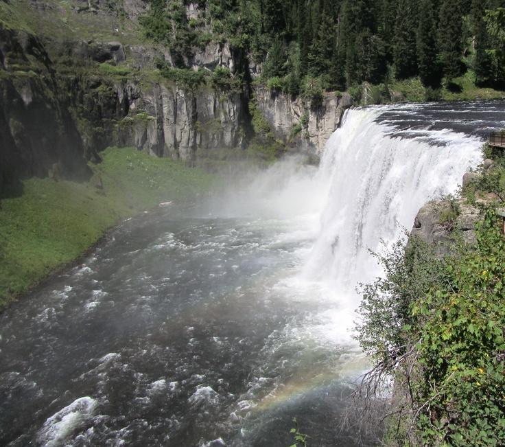 Mesa Falls Idaho  Vacation pictures  Pinterest
