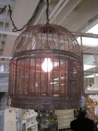 Bird cage light fixture | House Build | Pinterest