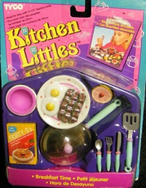 Barbie Kitchen Littles Breakfast Time Stuff