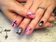 crosses redneck nailz nail art