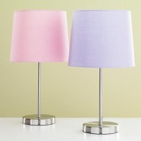 lavender lamp shade | Bedroom decor | Pinterest