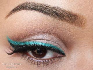 Double eyeliner!