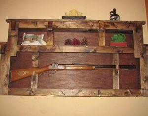 Rustic Gun Racks Wall