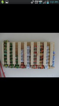 can holder for a pantry | Home Decor that I love | Pinterest