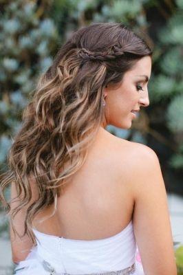 soft curls for bridal hair my wedding ideas pinterest