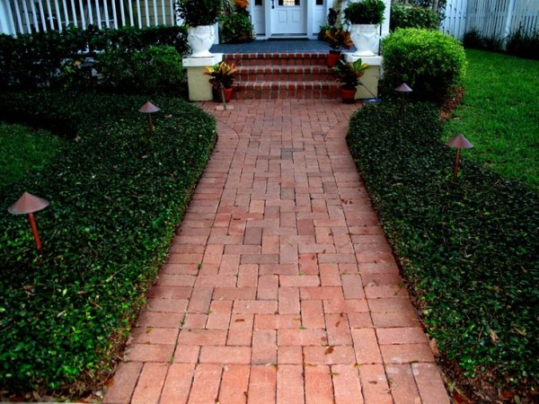 walkway front porch
