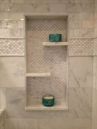 Beautiful Bathroom in wall shelf | Basement | Pinterest