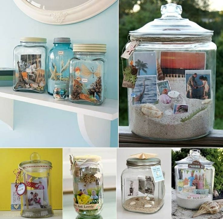 Make a memory last forever with this idea! Great for a beach theme wedding!