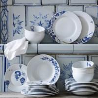 New Ikea dinnerware - spring 2013 | Blue & White | Pinterest