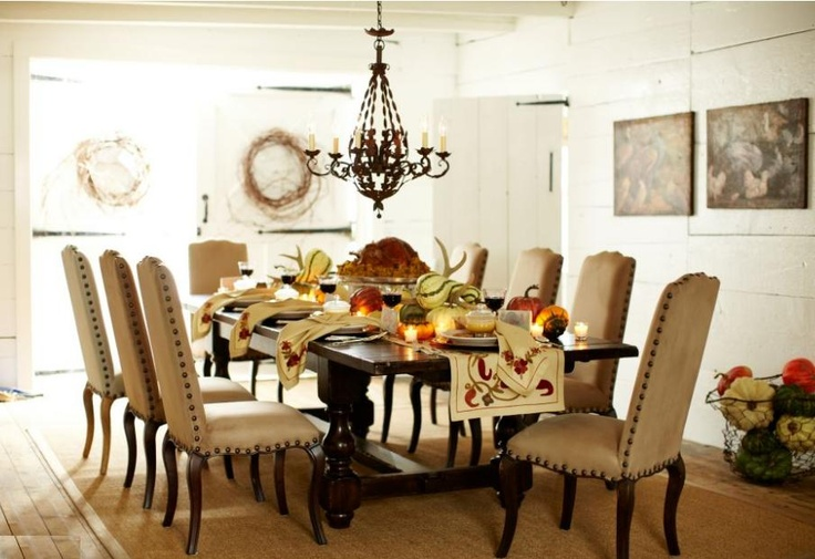 Pottery Barn Thanksgiving Table Top