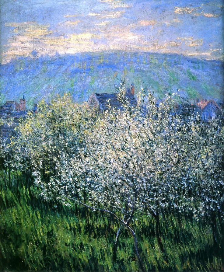 Claude Monet - Plum Blossom (pointilism) !!!