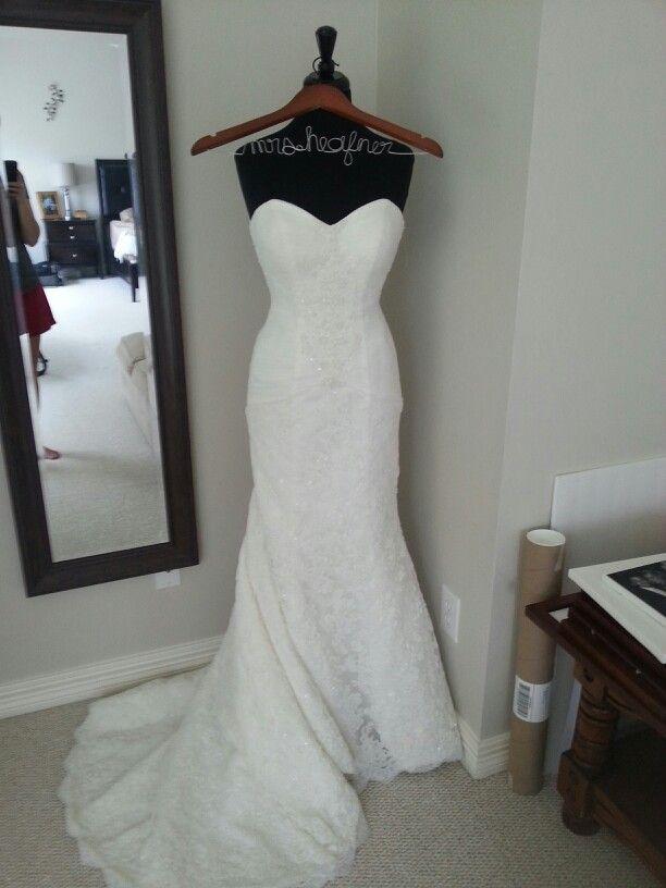 Wedding dress display  Wedding  Pinterest