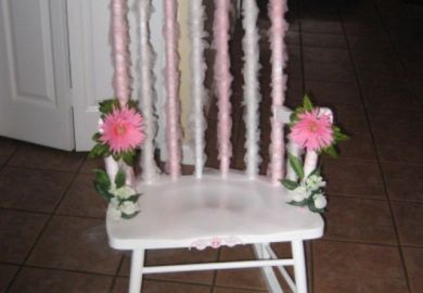 Baby Shower Rocking Chair