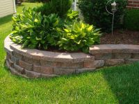 Landscaping: Front Yard Landscaping Ideas+retaining Wall