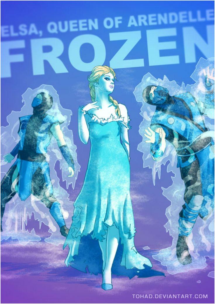 Elsa The Evil Ice Queen