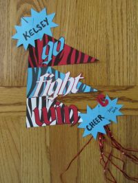 Door Decoration Cheer Camp | Party Invitations Ideas