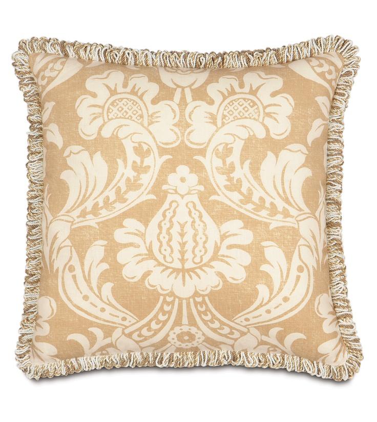 Fringed Pillow  Pillow Lovers  Pinterest