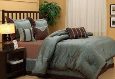 Amazon Chocolate Brown Comforter Home Kitchen