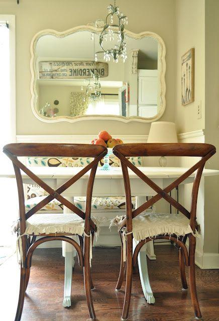 new table in breakfast nook