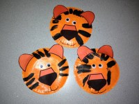 Tiger Paper Plate Craft   www.imgkid.com - The Image Kid ...