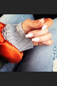 Natural nail shape | Nails | Pinterest