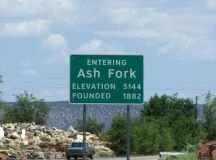Town sign | Things to see and do in Ash Fork, AZ 86320 ...