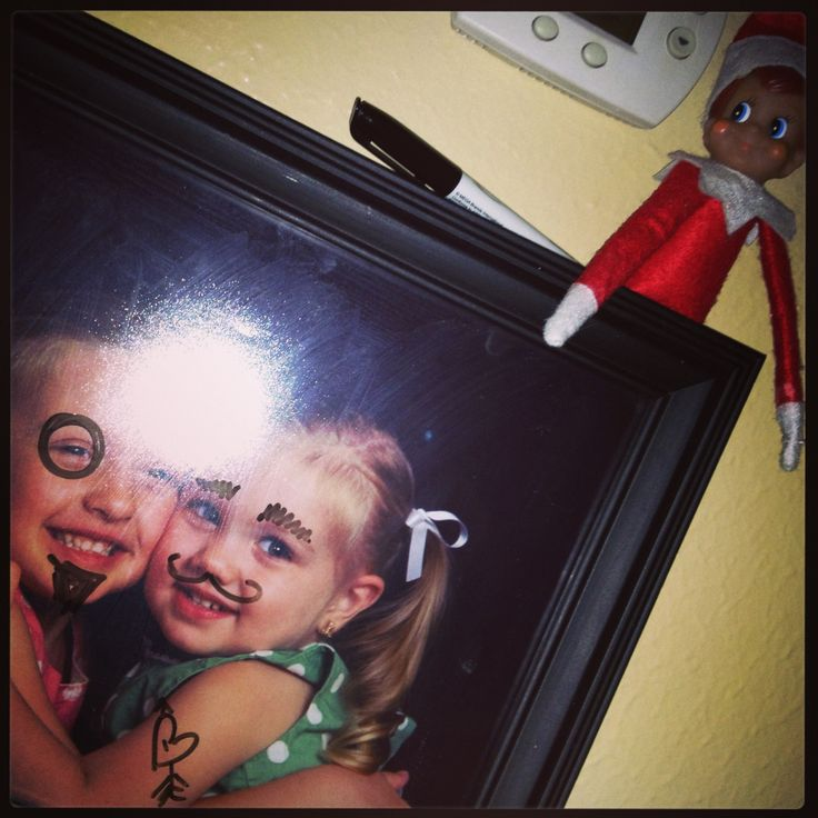 Elf on a shelf prank