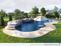 Free Form Pool Designs | Green Thumb | Pinterest