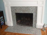 tile fireplace | Fireplaces | Pinterest
