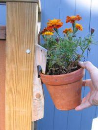 Flower Pot Holder   garden   Pinterest