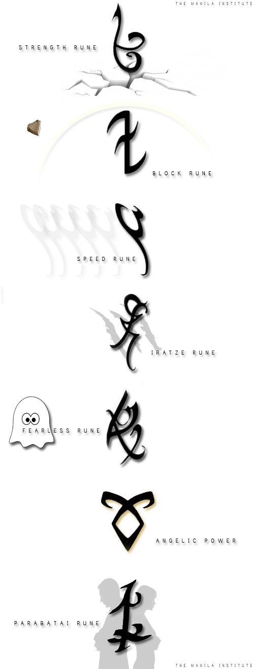 A cool animated version of the shadowhunter runes [gif