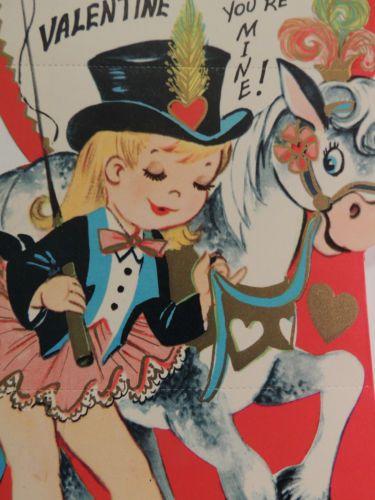 Vintage Horse Valentine Card Hot Girls Wallpaper