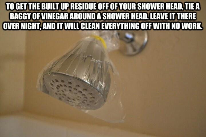 Vinegar Shower Cleaner