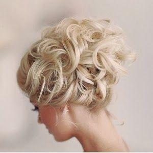 romantic loose curly updo wedding wedding bridal hair pinterest