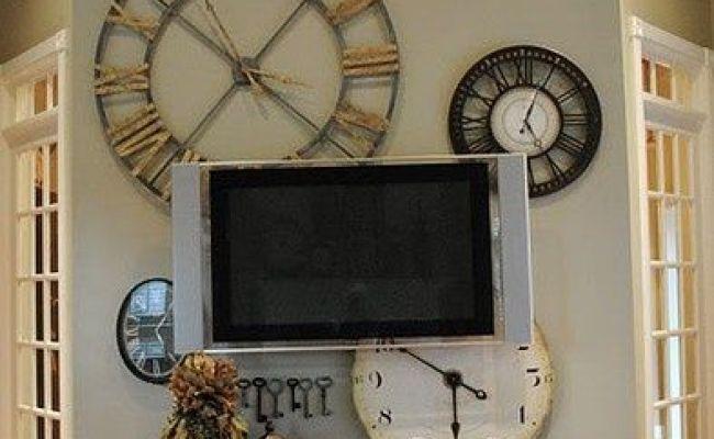 Clock Wall Decorating Ideas Pinterest