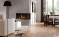 2 sided gas fireplace - Google Search | Rustic Homes ...