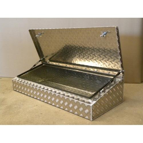 Aluminium Wedge Roof Rack Storage Box
