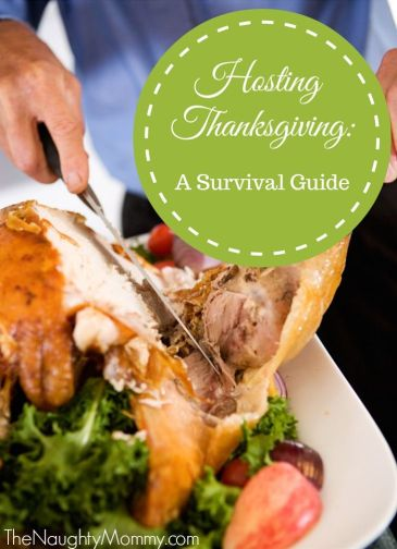 Hosting Thanksgiving: A Survival Guide. My top ten tips for making hosting Thanksgiving a breeze!
