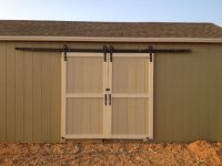 James: Outdoor barn door hardware kit