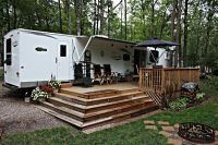 more deck ideas | Cape Cod Camping | Pinterest