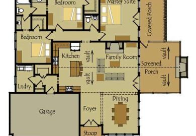 Simple Two Storey Floor Plans
