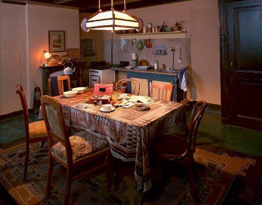 Secret Annex Kitchen Diary Anne Frank