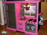Repurposed tv cabinet   cool stuff   Pinterest