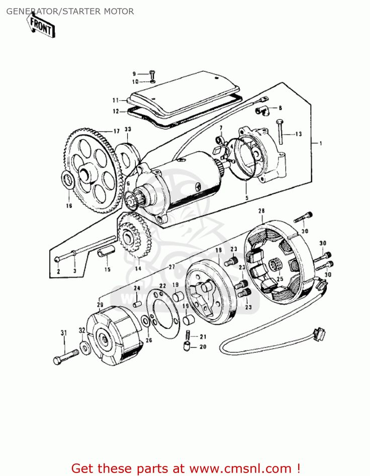 1973 Kawasaki 900 Wiring Diagram, 1973, Free Engine Image