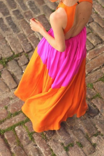 Fluor dress.