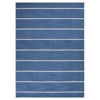 Blue and white stripe rug | Live it | Pinterest